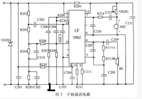 典型的tea1062的接线图如图所示