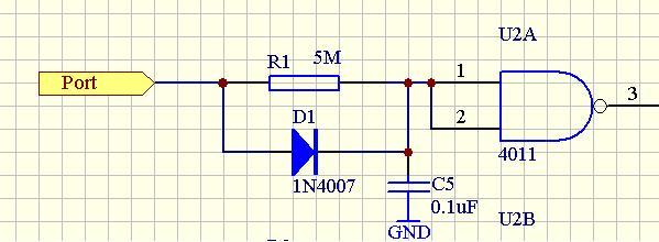 滤波电路中电阻并联二极管的作用?