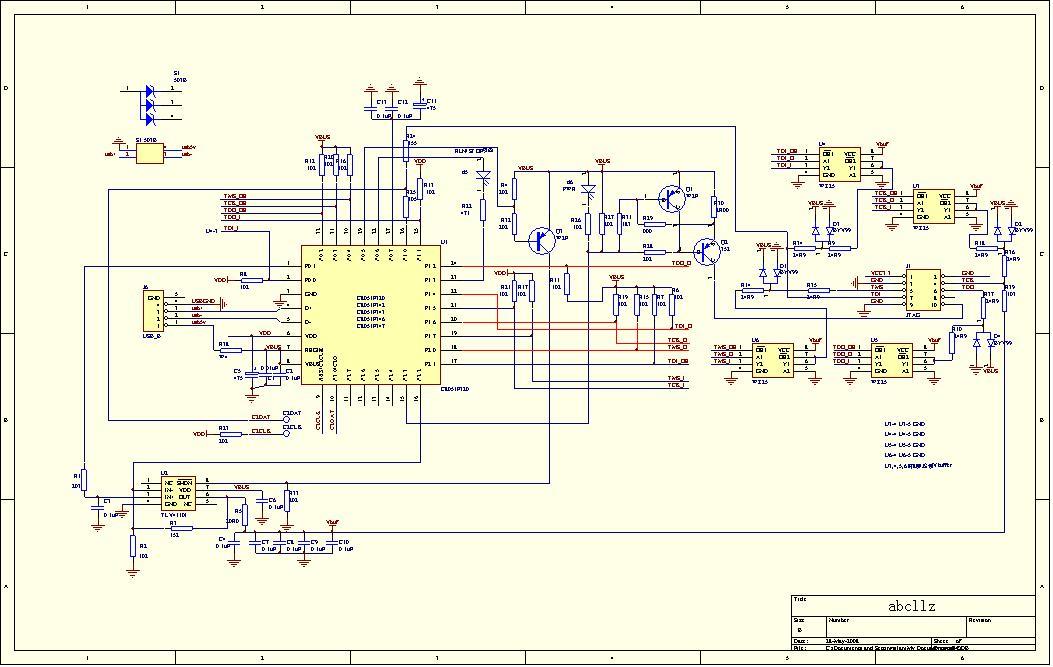 c8051f ec3电路图与hex
