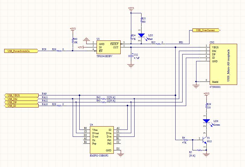 请教STM32F107的usb-OTG的使用(amoBBS 阿莫电子论坛)