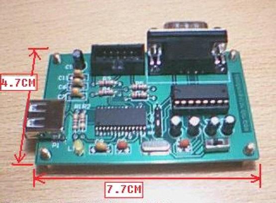 用ch341a制作的usb转串口和isp下载板!资料