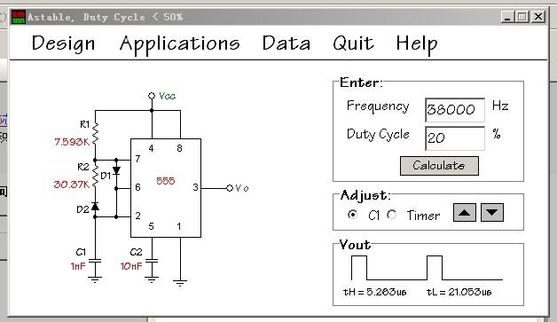555波形发生器问题