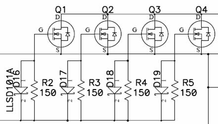 220v转36v直流电路图