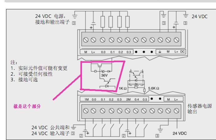 西门子224xp接线图
