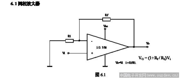 用lm258做放大输出波动较大的问题