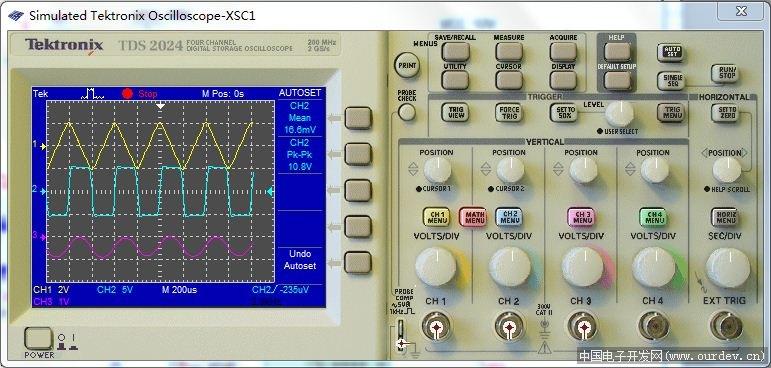 我的第一个方波-三角波-正弦波函数发生器