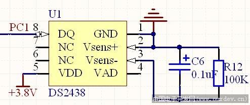 8芯片检测电池电量的情况