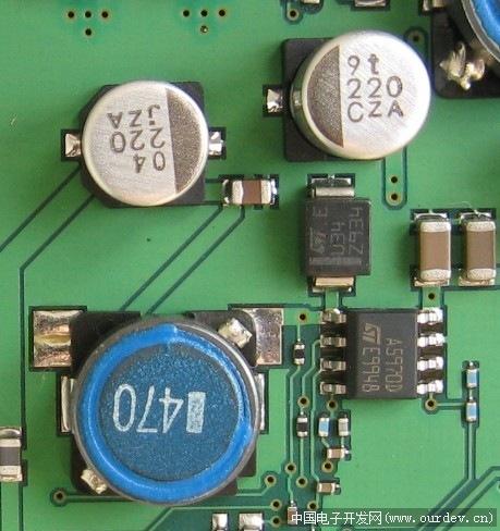 用二极管制作的简单电路板