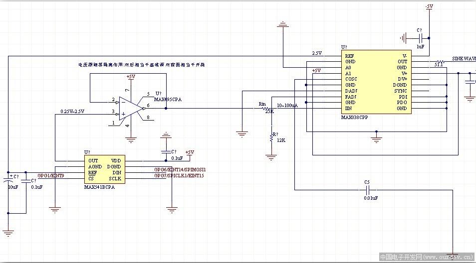 关于cd4051模拟开关的一个问题