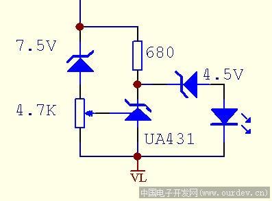 一个简单的12v蓄电池过放电保护电路