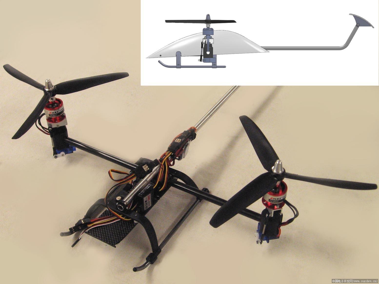 旋翼飞机结构设计