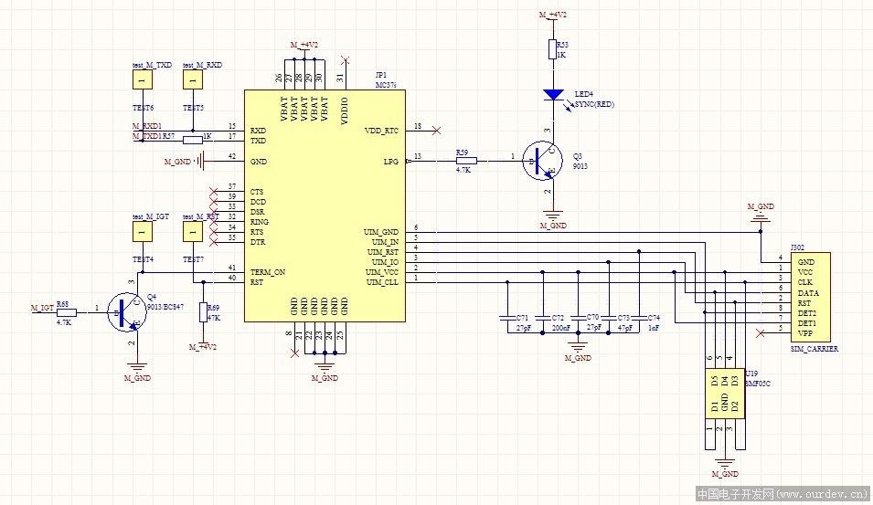 starpower模块电路图