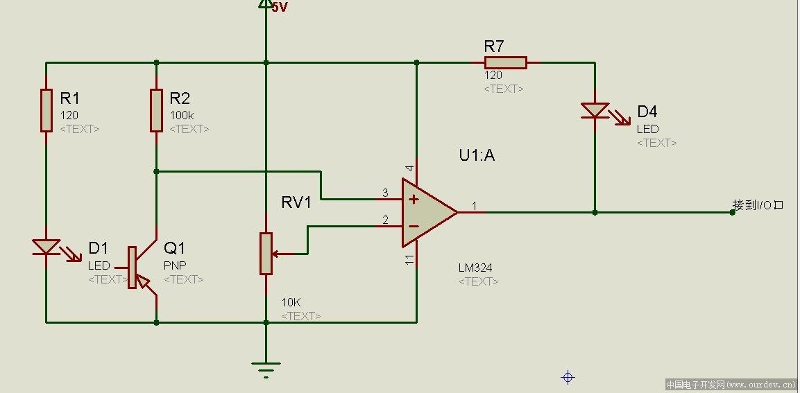 arduino小车红外线电路图