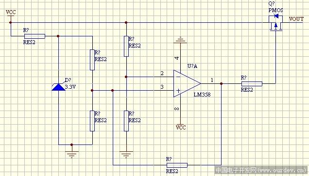 电池过放保护电路分析