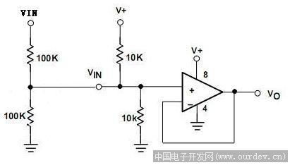 lm324电压跟随典型电路问题