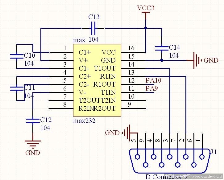 stm32+串口+流控
