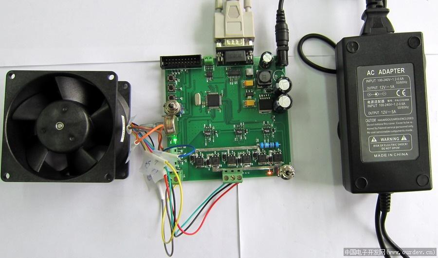 STM32 BLDC开发板 提供原理图和相应的原代码,源代码是基于免费开源CoOS(UCOS类似)操作系统上写的,在学习无刷电机的控制同时还能学习到操作系统的知识。同时提供用Matlab的GUI编写的串口接收程序和开源的代码,实时接收速度和电流信息,便于PID测试,并且有CAN(TJA1050)接口。同时自己可以进行修改学习Matlab的GUI编程。 1. STM32F103RB处理器 时钟72M Flash 64K RAM 20K 2. MOSFET SUD35N05-26L 55V 35A Rds=0