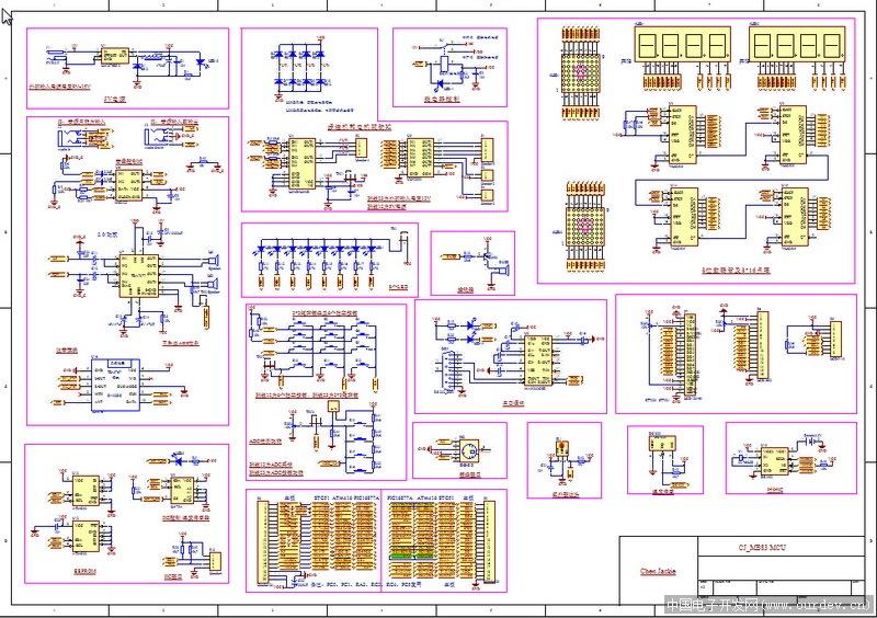 工作之余打造的3合1单片机开发板之stc51开发板跟大家