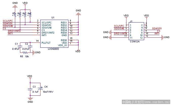 安罗40m示波器电路图