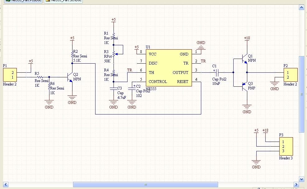 ne555组的的多谐振荡器