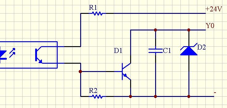 松下plc内部电路不解,有图