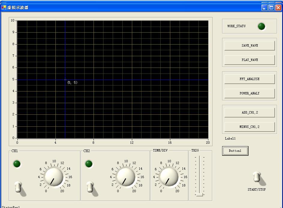 示波器界面_我将要做的用于虚拟示波器的数据采集卡,大家给点意见