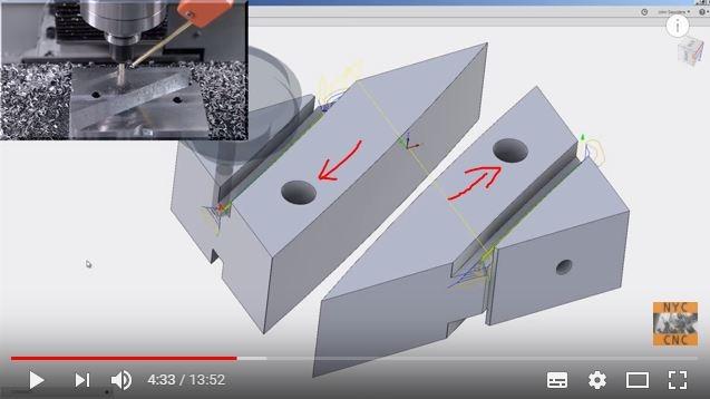 工件有个孔,顺便作为定位孔
